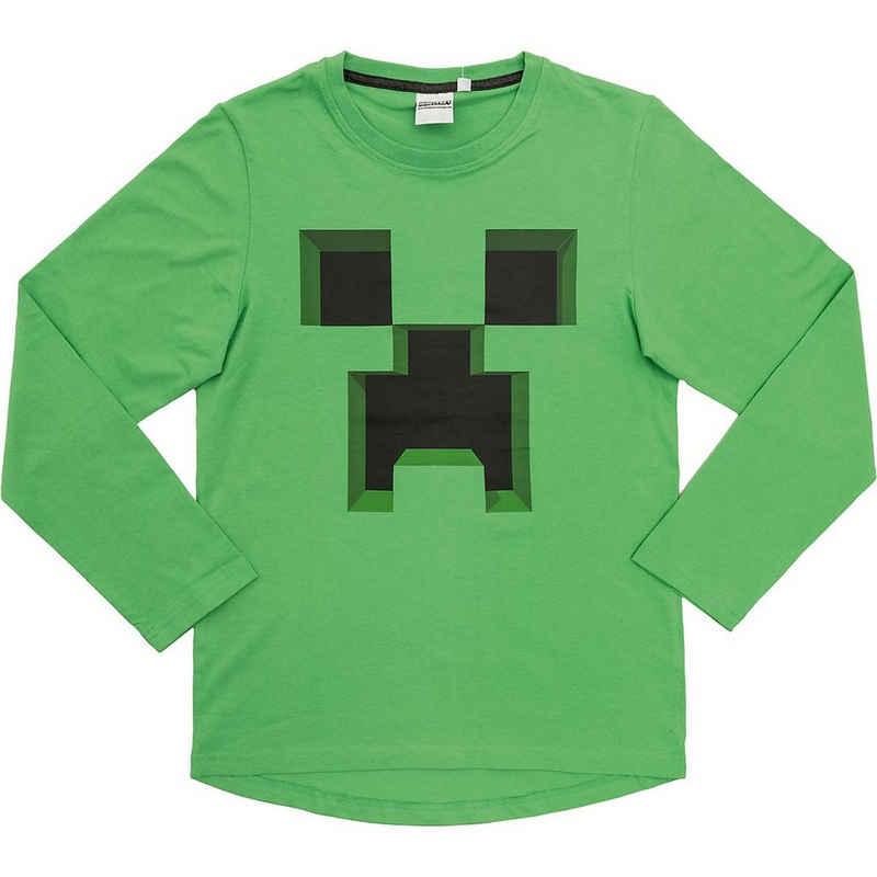 Minecraft Sweatshirt »Sweatshirt Ever Green 152cm«