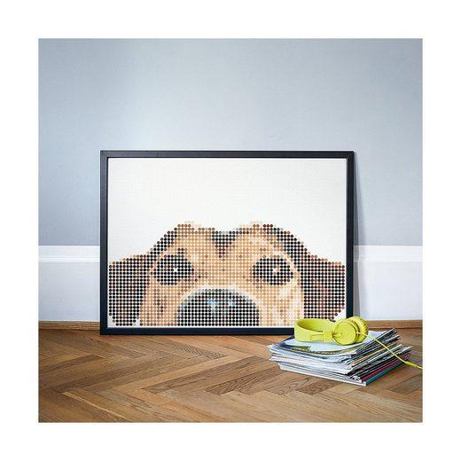 Dot On Malvorlage »dot on art - animals - dog, 50 x 70 cm«