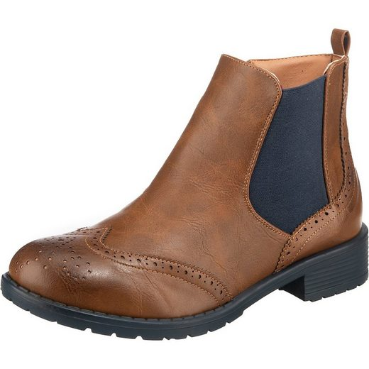 Inselhauptstadt »Classic Chelsea im Nappa Look, easy entry« Chelseaboots