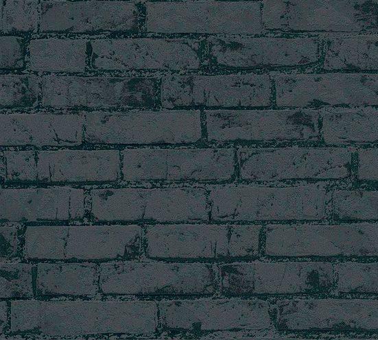 living walls Vliestapete »High Rise«, strukturiert, matt, glänzend, metallic, Steinoptik, (1 St), strukturiert