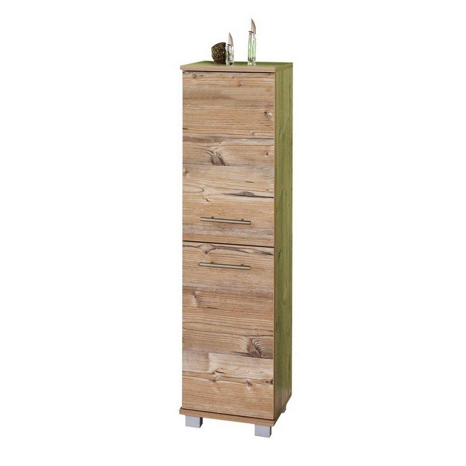Lomadox Hochschrank »ANZIO 200« Badezimmer Highboard, 20 Türen, silberfichte,  B x H x T ca. 20,20 x 20,20 x 2020,20cm online kaufen   OTTO