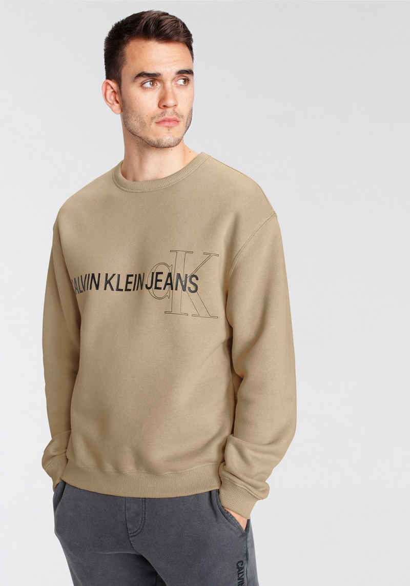 Calvin Klein Jeans Sweatshirt »INSTIT SEASONAL LOGO CREW NECK«