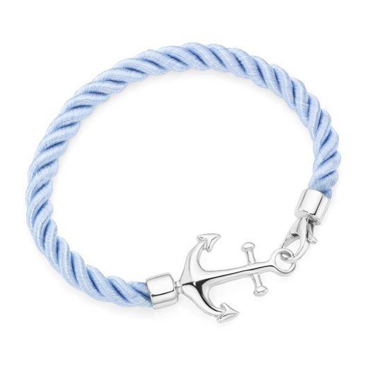 Smart Jewel Armband »Textil, mit Anker«