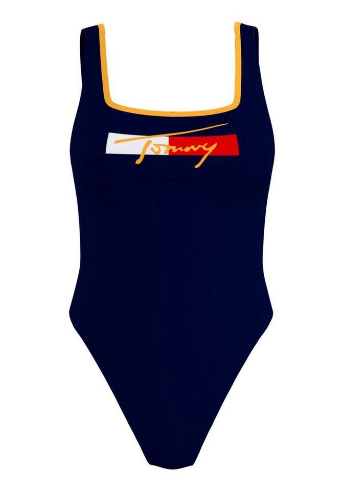 Bademode - Tommy Hilfiger Badeanzug, mit Logoschriftzug ›  - Onlineshop OTTO