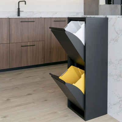 Spinder Design Mülltrennsystem »Gigi«, Breite 34 cm