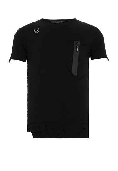 Cipo & Baxx T-Shirt mit Design Application