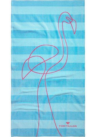 TOM TAILOR Strandtuch »Flamingo« (1-St) su puikus...