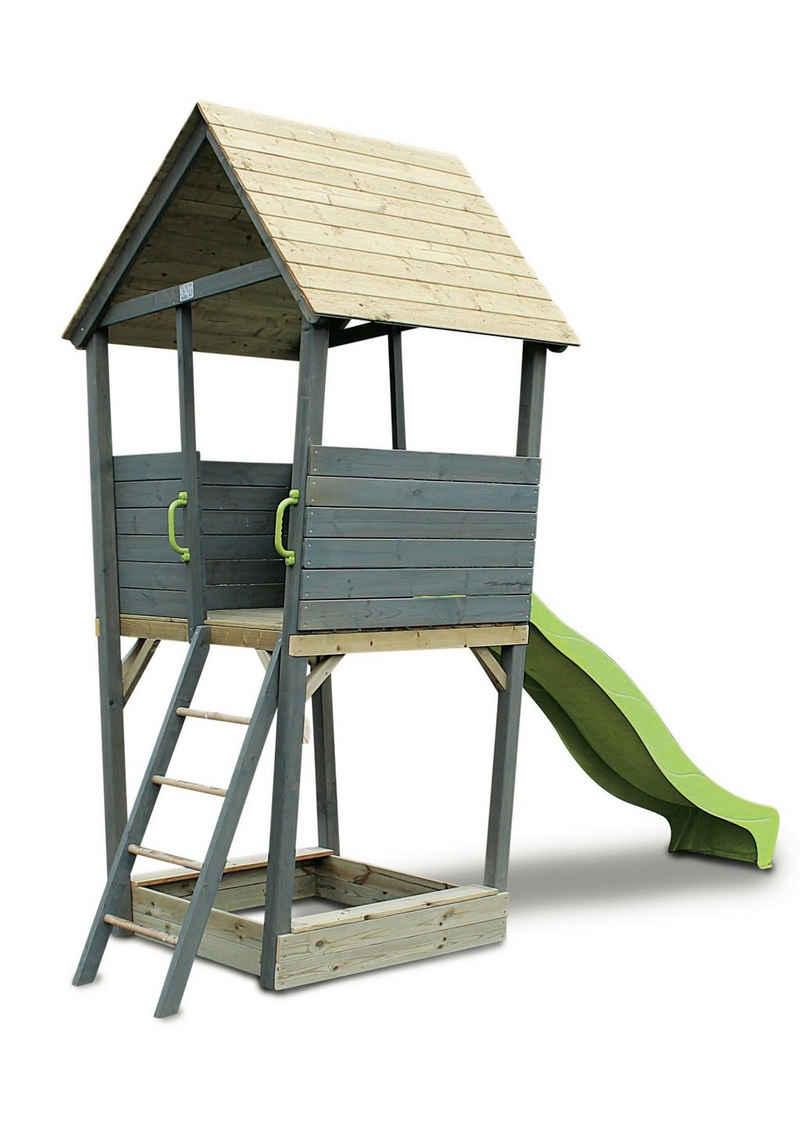 EXIT Spielturm »Aksent«, BxTxH: 323x296x401 cm