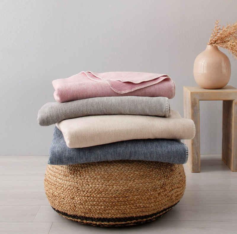 Wohndecke »Jannis«, OTTO products, GOTS zertifiziert - nachhaltig aus Bio-Baumwolle