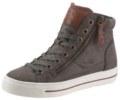 Paul Green Sneaker mit zusätzlichem Außenreißverschluss