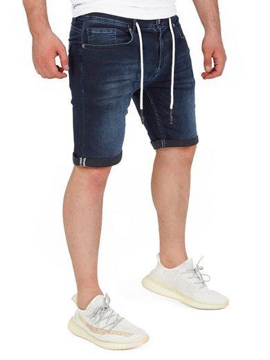 WOTEGA Sweatshorts »Diego« modische Jeansshorts mit Stretchanteil