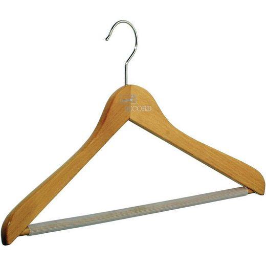 pieperconcept Kleiderbügel »Holz Kleiderbügel Buche,mit Steg«