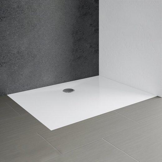 Schulte Duschwanne »Schulte-plan«, rechteckig, Mineralguss, 90 x 120 cm