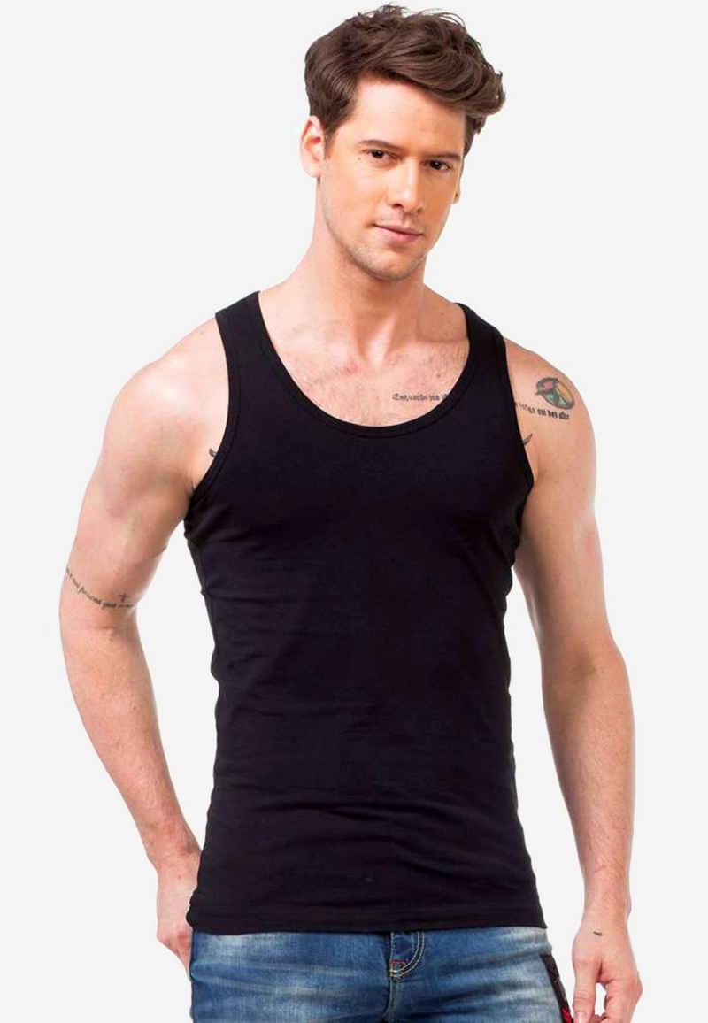 Cipo & Baxx T-Shirt mit angenehmem Tragekomfort