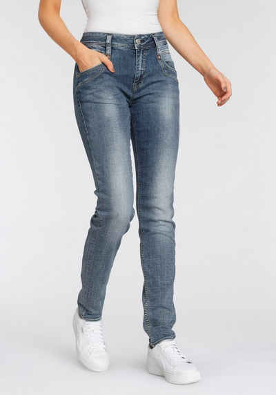 Herrlicher High-waist-Jeans »RADINA POWERSTRETCH« mit leichtem Push-Up-Effekt