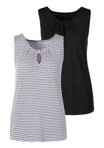 Vivance Marškinėliai be rankovių (2er-Pack) su...