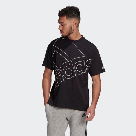 adidas Performance T-Shirt »GIANT LOGO – GENDERNEUTRAL«