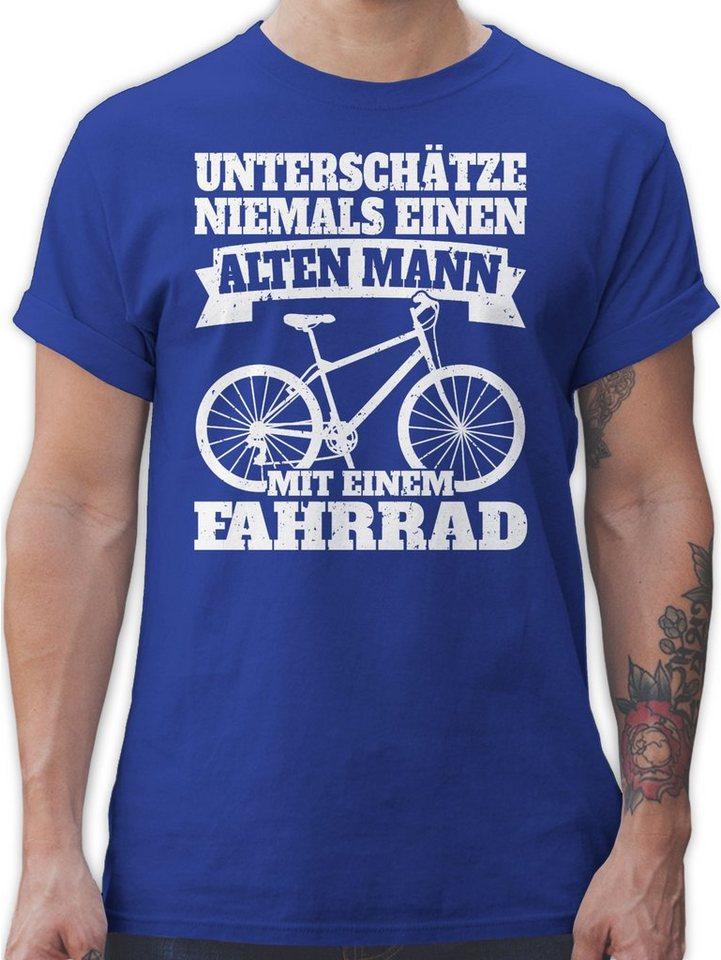 Shirtracer T-Shirt »Unterschätze niemals einen alten Mann