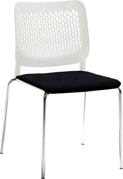 Mayer Sitzmöbel Stapelstuhl »Stapelstuhl mySITTEC« (Packung), stapelbar