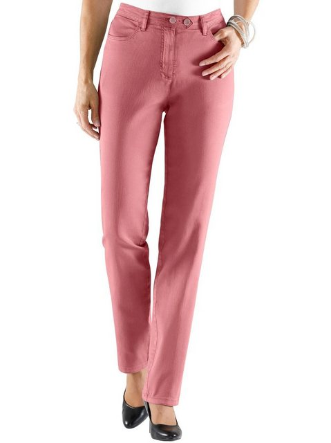 Hosen - Classic Basics Bequeme Jeans › rot  - Onlineshop OTTO