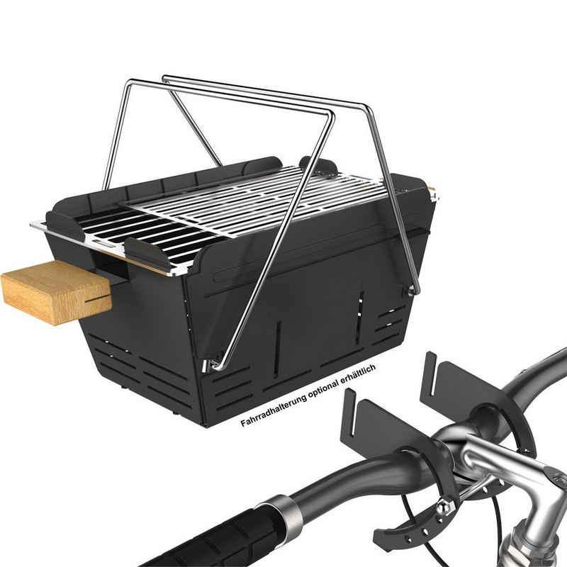 KNISTER Holzkohlegrill »Fahrradhalterung für Holzkohlegrill«