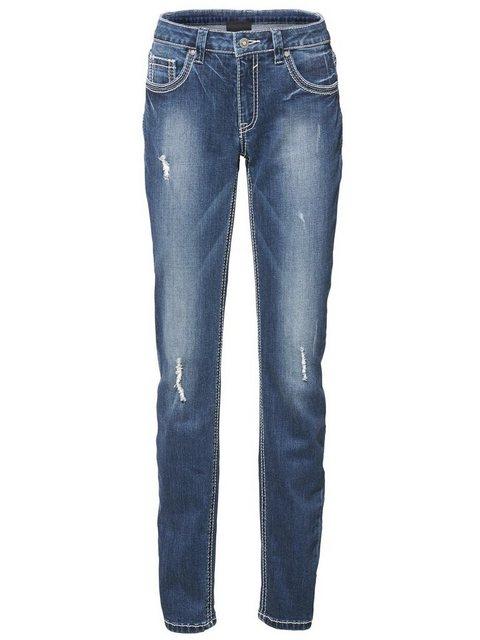 Hosen - B.C. BEST CONNECTIONS by Heine Boyfriend Jeans › blau  - Onlineshop OTTO