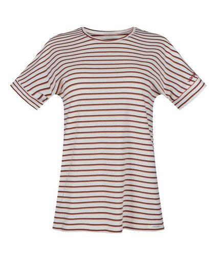 Skiny Pyjamaoberteil Modernes Streifendesign