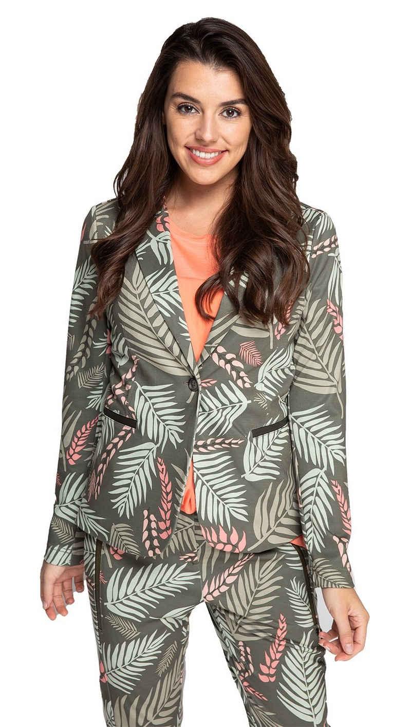 Zhrill Jackenblazer Damen Blazer Anzugjacke Elegant Slim Fit Salma