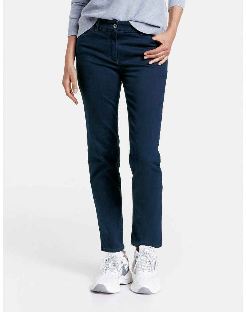 GERRY WEBER Stretch-Jeans »5-Pocket Jeans Straight Fit« (1-tlg) 5-Pocket