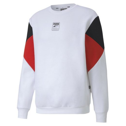PUMA Sweater »Rebel Small Logo Herren Sweatshirt«