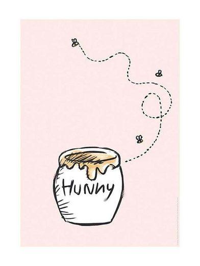 KOMAR XXL Poster »Winnie Pooh Hunny Pot«