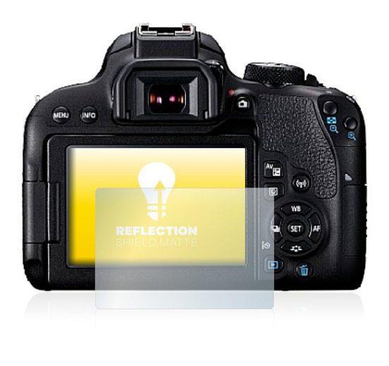 upscreen Schutzfolie »für Canon EOS 800D«, Folie Schutzfolie matt entspiegelt