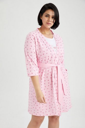 Morgenmantel »DeFacto Damen Gestrickte Sets DRESS CREW NECK«, DeFacto