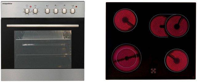 RESPEKTA Küchenzeile RP300 , mit E-Geräten, Breite 300 cm