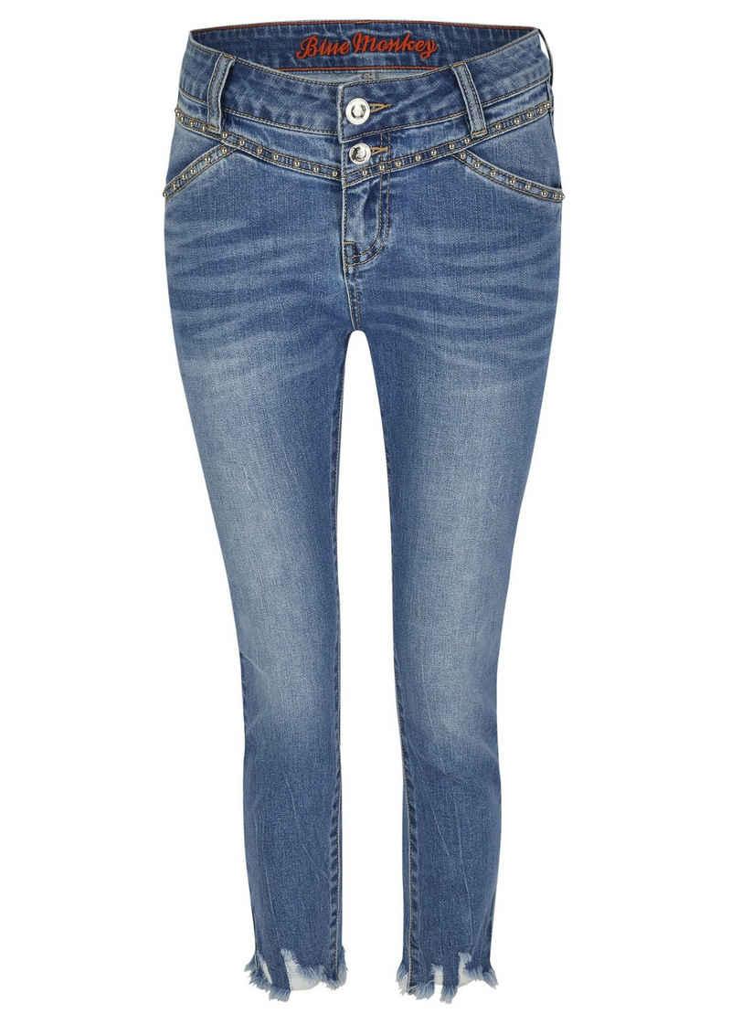 Blue Monkey 7/8-Jeans »Sandy« (1-tlg)
