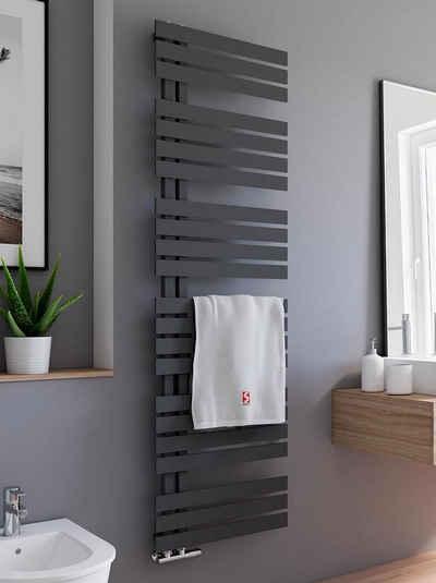 Schulte Badheizkörper »Breda Design-Heizkörper Pearl Schwarz«, mit Handtuchhalter-Funktion