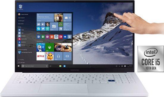 Samsung NP950X Galaxy Book Ion 15'' Notebook (39,62 cm/15,6 Zoll, Intel, Iris Plus Graphics, - GB HDD, 256 GB SSD)