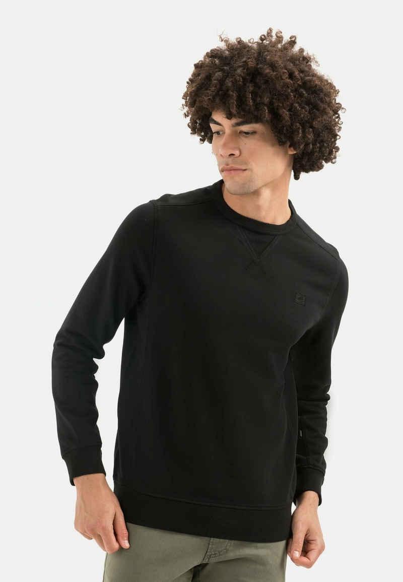 camel active Sweatshirt »Sweatshirt aus reiner Baumwolle«