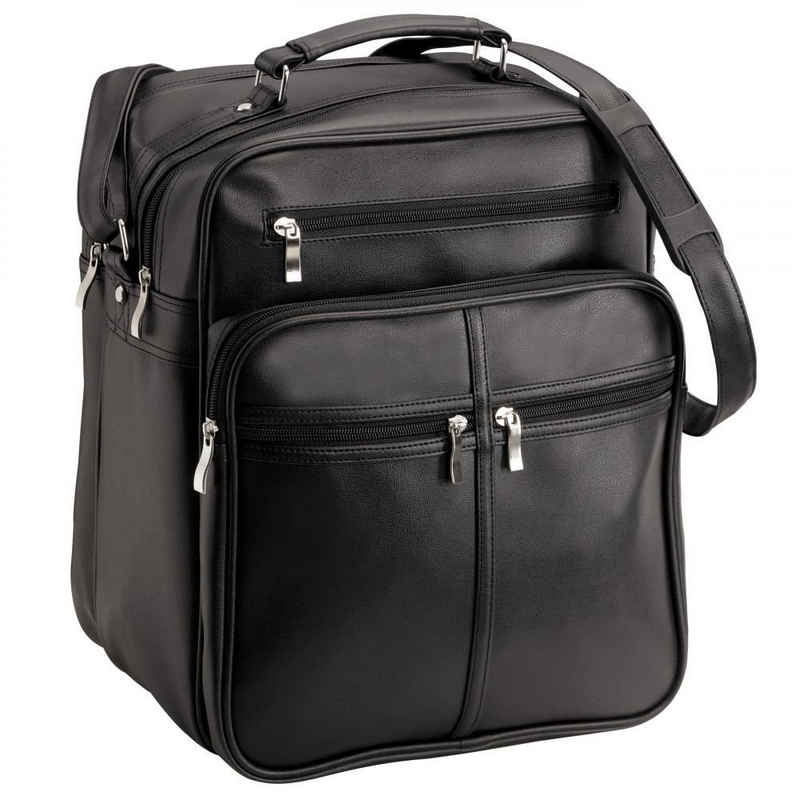 D&N Flugumhänger »Travel Bags«, Kunstleder