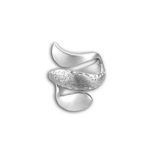 SilberDream Silberring »SDR402J52 SilberDream Schlange Ring Damen Gr. 52« (Ringe), Damen Ring Schlange, 52 (16,6) aus 925er Sterling Silber, Farbe: silber