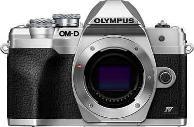 Olympus »E-M10 Mark IV« Systemkamera-Body (20,3 MP, Bluetooth, WLAN (WiFi), +BLS-50, F-5AC USB-AC Adapter, USB cable, Shoulder Strap)