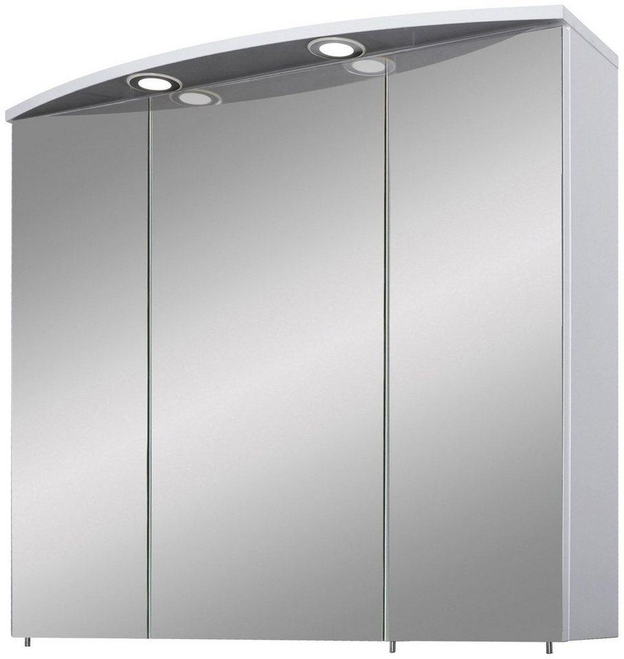 Schildmeyer Spiegelschrank »Verona« Breite 200 cm, 200 türig, 20 LED ...