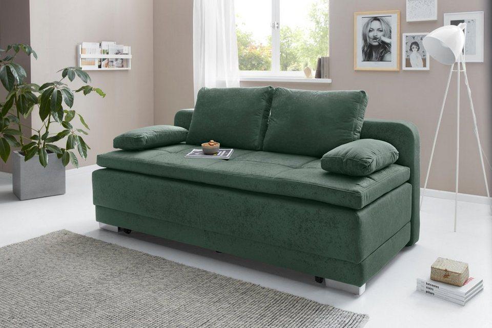 Collection Ab Schlafsofa Inklusive Bettfunktion Und Bettkasten Online Kaufen Otto