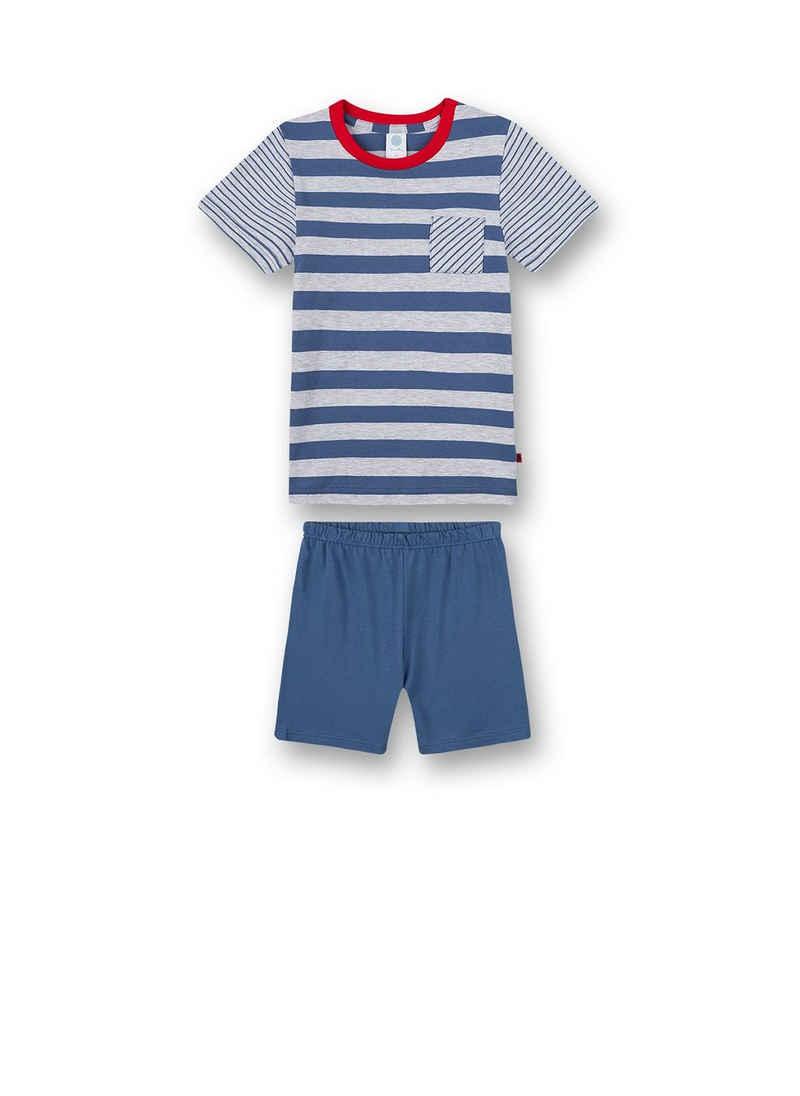 Sanetta Pyjama »Jungen Schlafanzug Set - kurz, Kinder, 2-tlg.,«