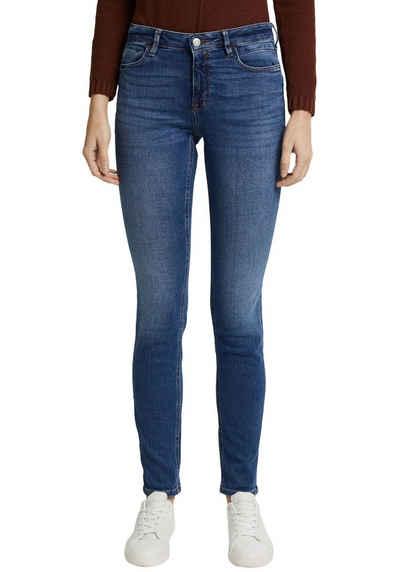 Esprit Slim-fit-Jeans medium rise
