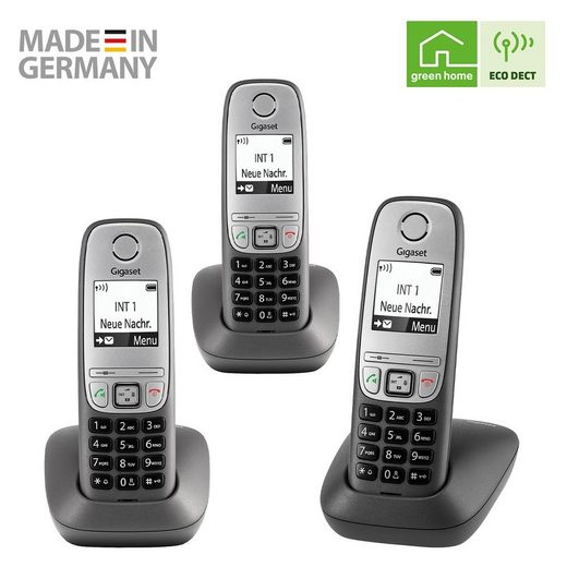 Gigaset »Gigaset Comfort TRIO« Schnurloses DECT-Telefon