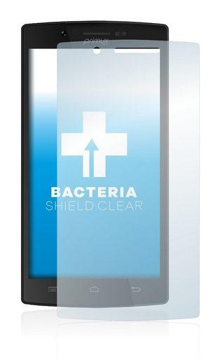 upscreen Schutzfolie »für Primux Alpha 4«, Folie Schutzfolie klar antibakteriell