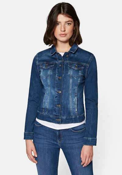 Mavi Jeansjacke in angesagter Used-Waschung