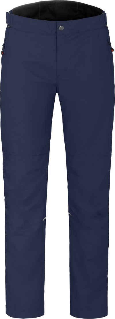 Bergson Regenhose »MITCHELL« Herren Regenhose, Netzfutter, 12000 mm Wassersäule, Kurzgrößen, peacoat blau