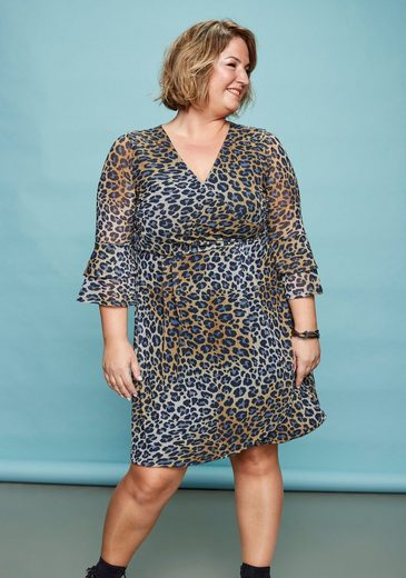 Boysen's Meshkleid »Soulfully« mit Animal Print
